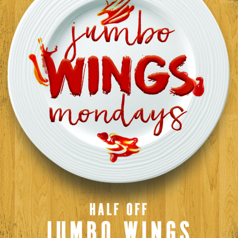 Monday Jumbo Wings Special