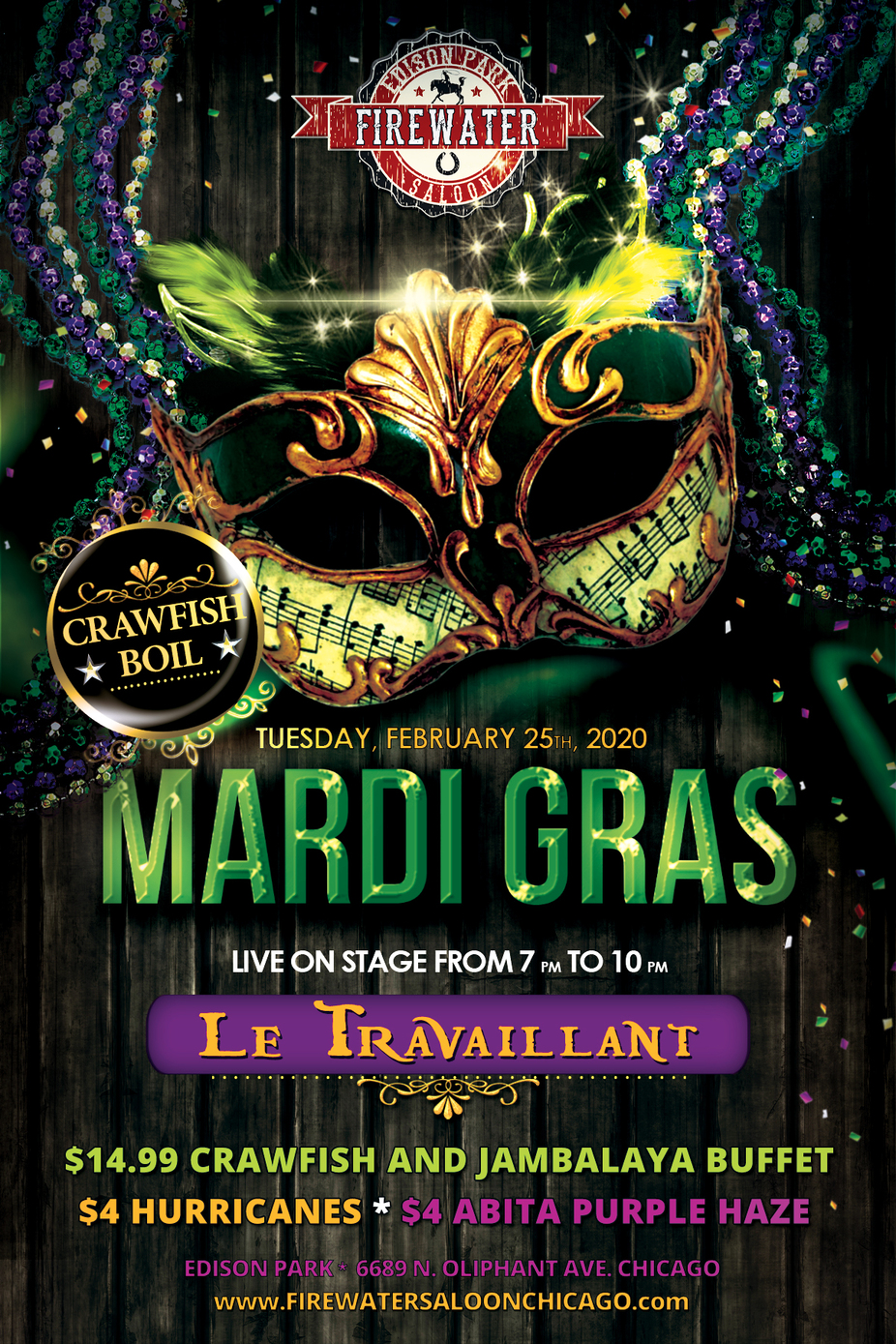 Mardi Gras event photo
