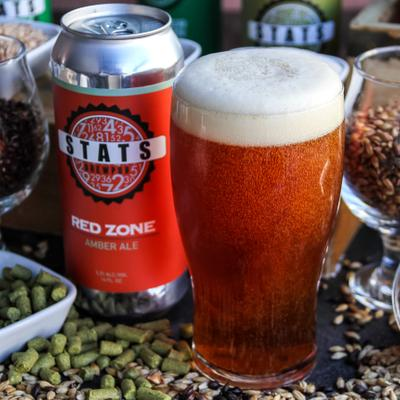 STATS Red Zone Amber Ale photo