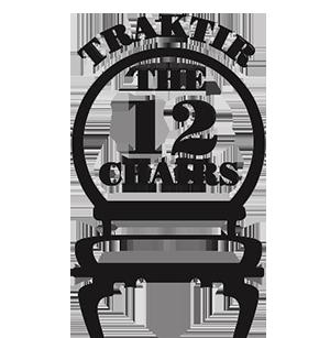 Traktir The 12 Chairs logo top