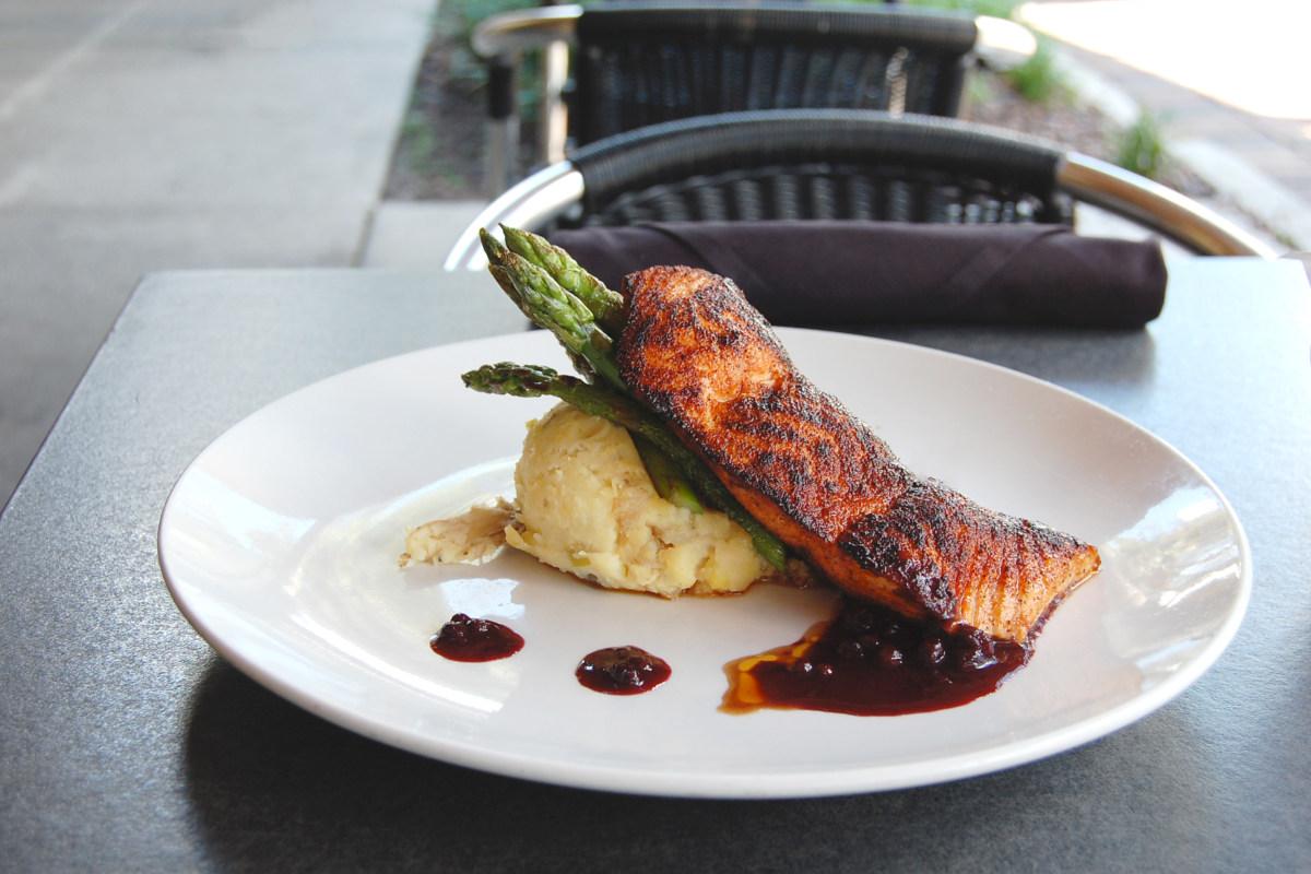 bronzed salmon