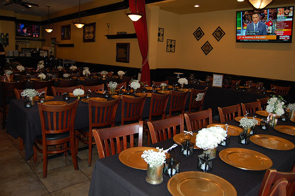 park south restaurant interior