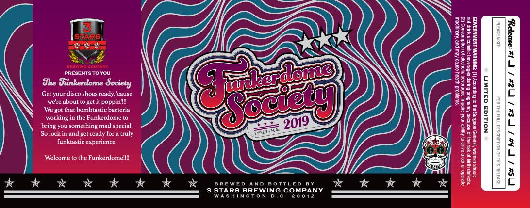 Funkerdome Society 2019 flyer