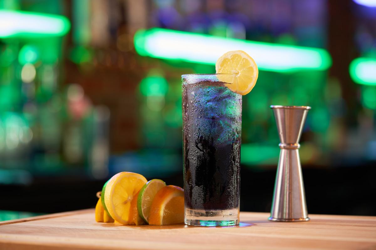 purple smoke cocktail