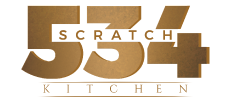 534 Scratch Kitchen logo scroll