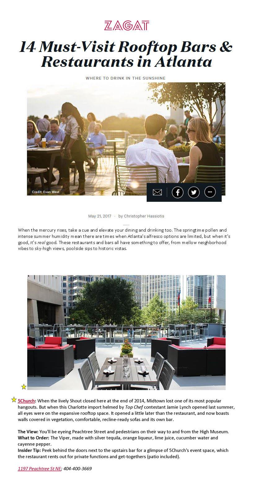 Zagat article photo