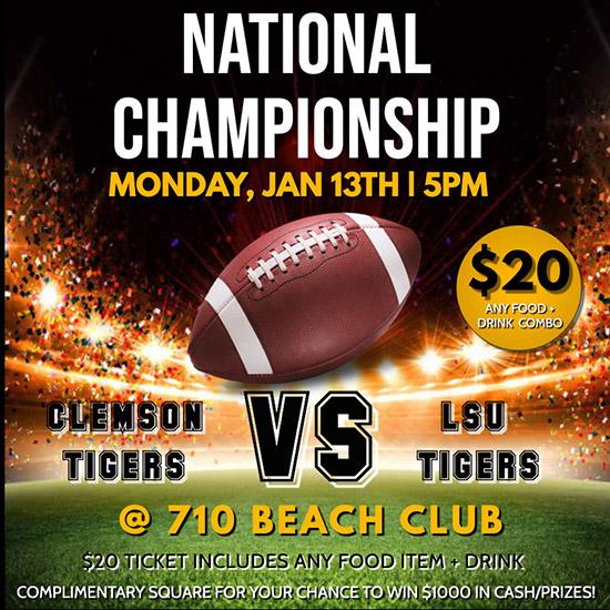National championship flyer