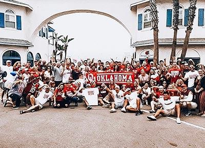 Football fan crew