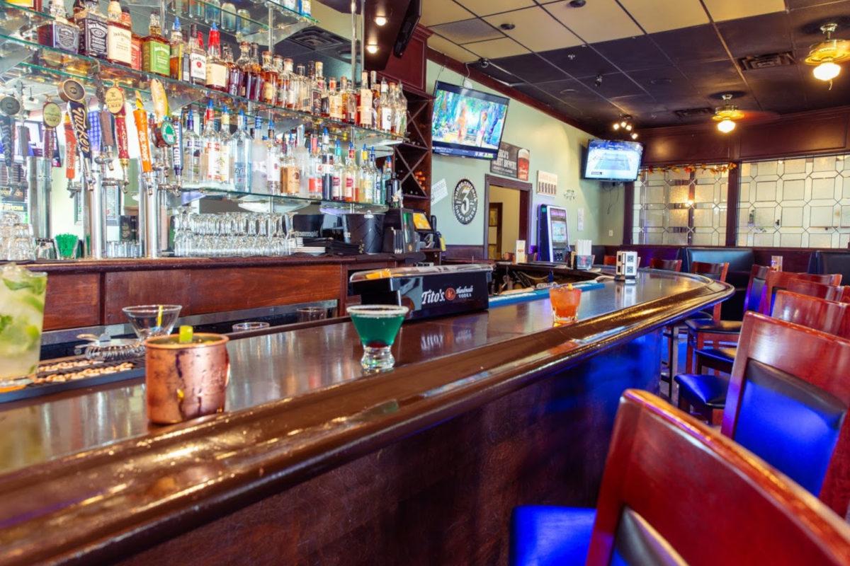 interior, bar area