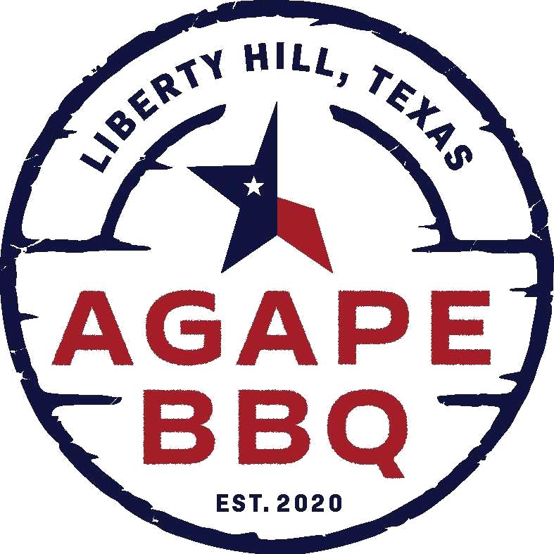 Agape BBQ logo top