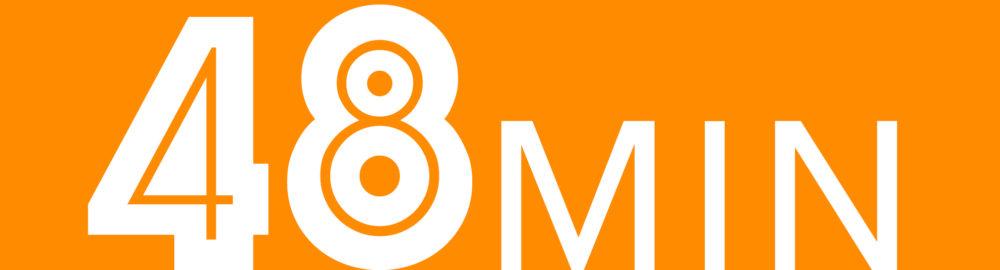 48 min logo