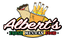 Albert's Fresh Mexican Food logo top