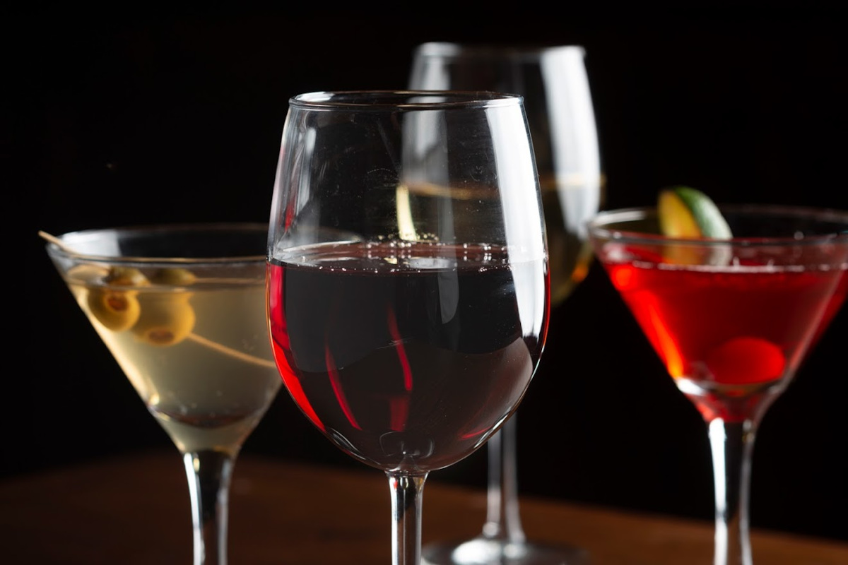 Different types of drink
