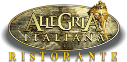 Allegria Italiana logo scroll