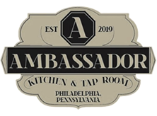 The Ambassador logo top
