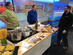 Staff featured on the local news today
