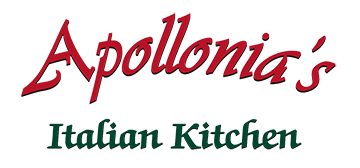 Apollonia's Italian Kitchen logo scroll