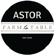 Astor Farm to Table logo top