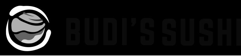 Budi's Sushi Atlanta logo top