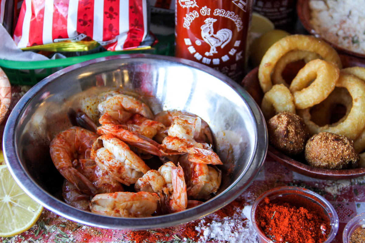 jumbo shrimp cajun boiled