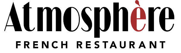Atmosphere Bistro logo scroll