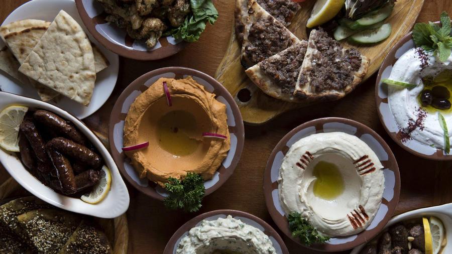Lebanese food meals