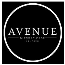 The Avenue Kitchen & Bar logo top