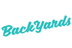 Backyards logo scroll