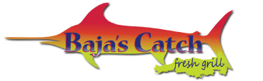 Baja's Catch Fresh Grill logo top