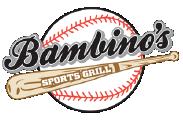 Bambino's Sports Grill logo top