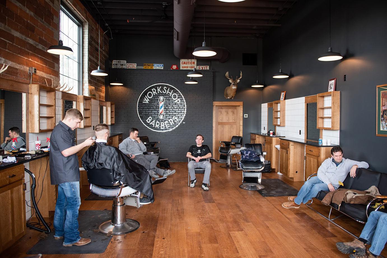 Workshop Barbers interior