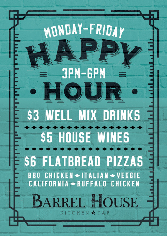 monday-friday happy four flyer