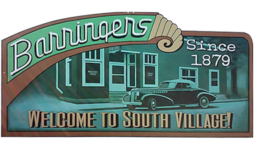 Barringers Tavern logo top