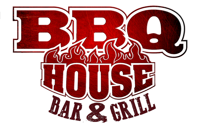 BBQ House logo scroll