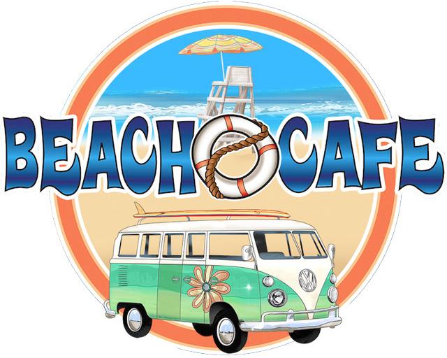 Beach Cafe logo top