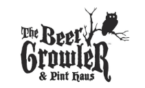 The Beer Growler logo scroll
