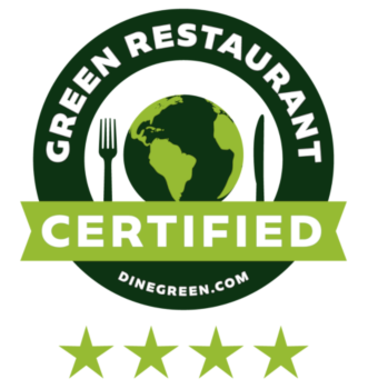 Green restaurant certified logo