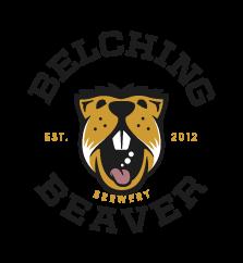 belching beaver logo