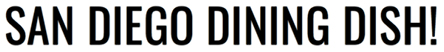 San Diego Dining Dish logo