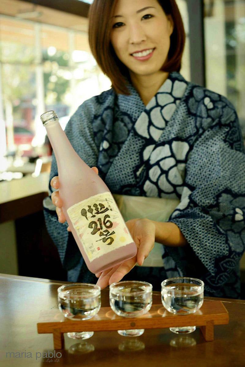 photo of Saké Master Ayaka Ito