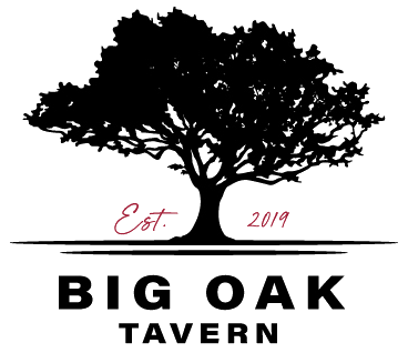 Big Oak Tavern logo scroll