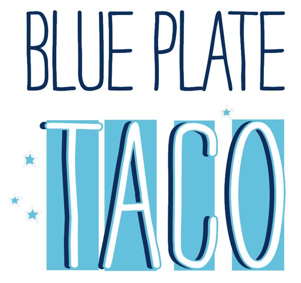 Blue Plate Taco logo