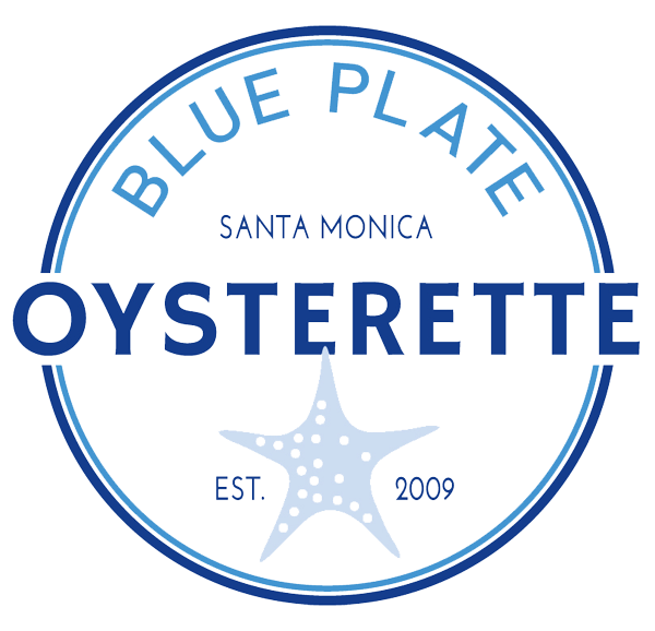 Blue Plate Oysterette logo scroll