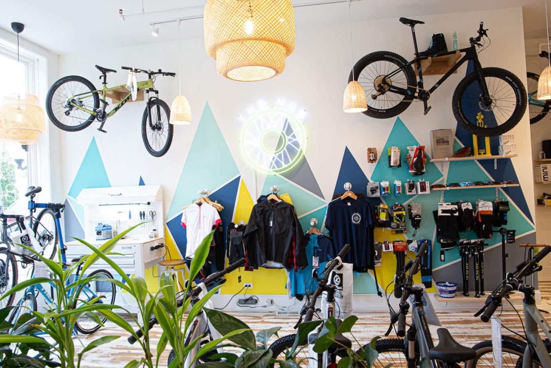 Interior, store space