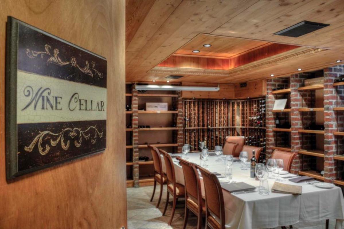 Interior, wine cellar