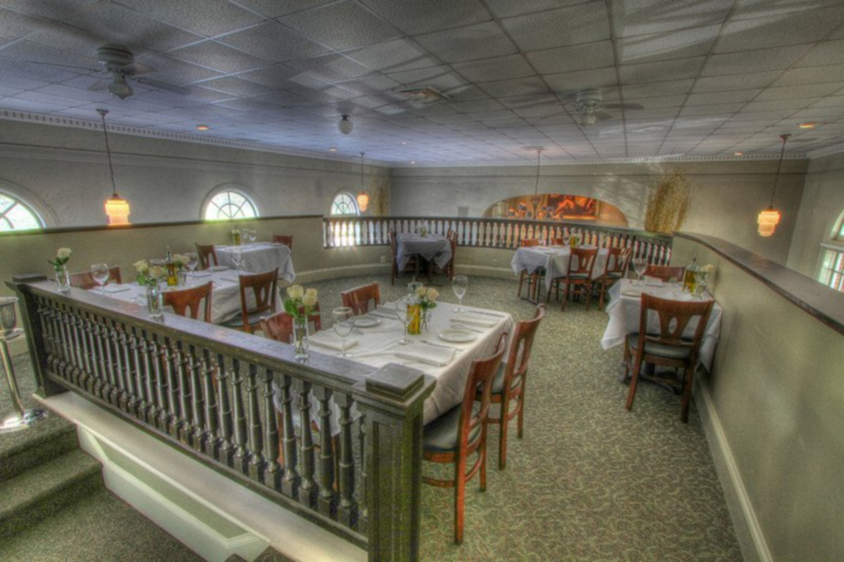 Private tables section