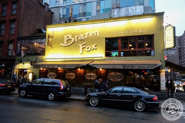The Brazen Fox in the East Village exterior