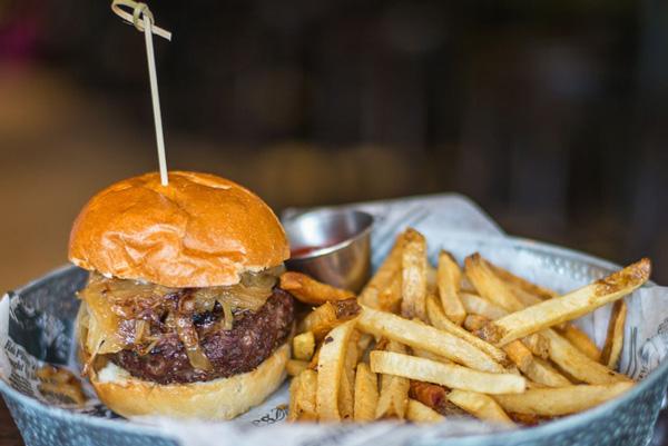 The bone marrow burger