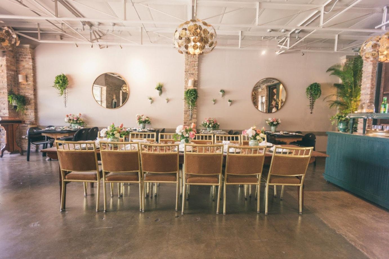 Interior, table for ten