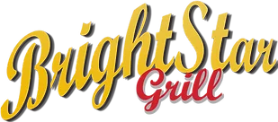 Brightstar Drive In Grill logo scroll